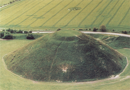 Silbury Hill Wiltshire UK
